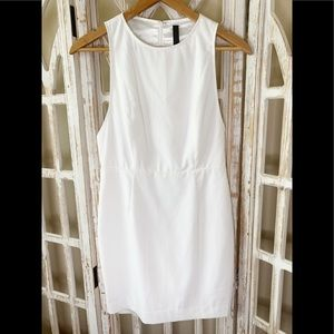 AQ/AQ Lexi white mini dress size 6 NWT